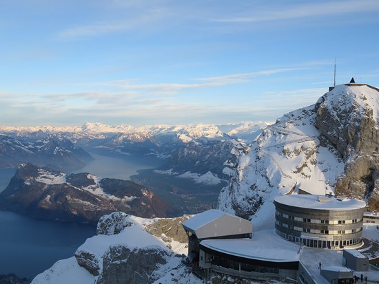 Hotel Pilatus-Kulm: View from the top of the Pilatus