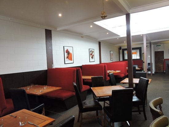 The Spice Room: Dining area