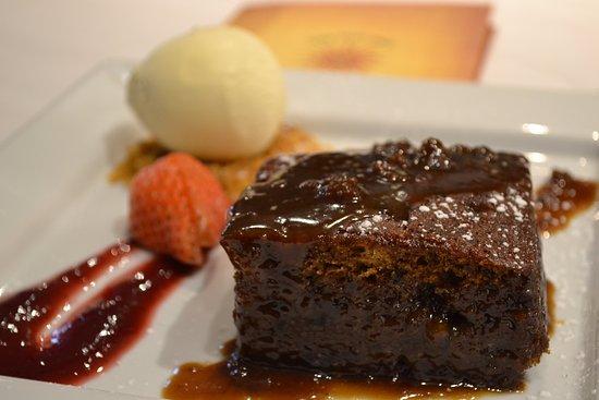 Crook, UK: Dessert