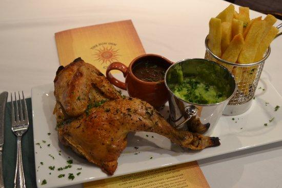 Crook, UK: Chicken