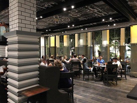 Kroya Restaurant Photo. Kroya Restaurant: Swinging Table Seat