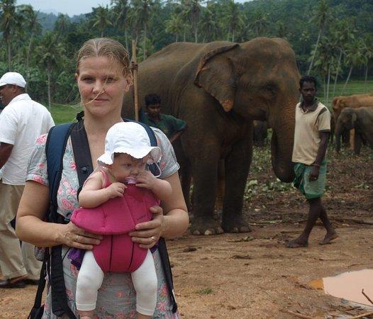 Pinnawala, Sri Lanka: Med Milla