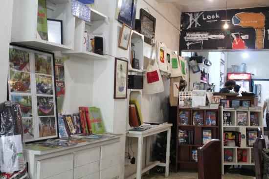 Serendipity Arts Cafe: Teil des Cafes