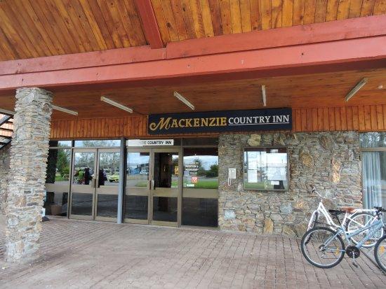 Twizel, New Zealand: Entrance