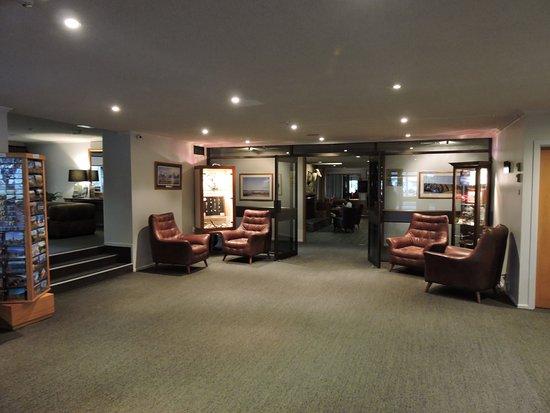 Twizel, New Zealand: Hotel Lobby