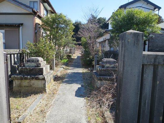 Kosai, Japan: 神社の入口