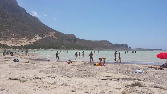 Balos Beach and Lagoon: μπάλος