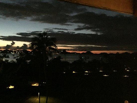 Caneel Bay, St. John: sunset