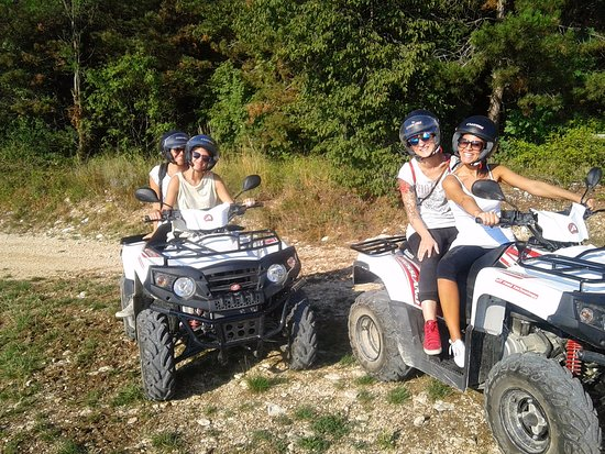 Fumane, Italy: escursione in quad