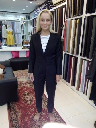 Jump suit Final fitting (Shyam Tailor House)