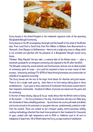 The curry house story in the UK by Le spice merchant - Wellingborough