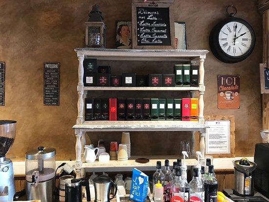 La Rosiere, Frankrig: Un cadre chaleureux et savoyard où il fait bon déjeuner, goûter et vivre un moment hors du temps