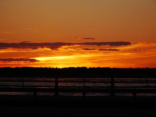 Rimouski, Canada: Coucher de soleil