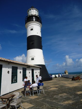 Santo Antonio da Barra fort and Nautic Museum: Vista do alto do Farol
