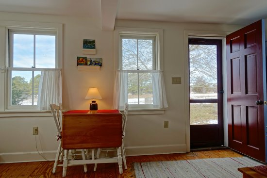 West Tisbury, MA: The room overlooking Broad Meadow