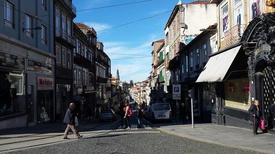 Hotel Grande Rio: Rue Santa Catarina