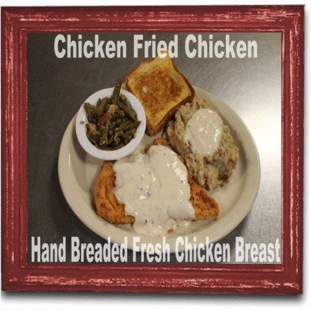 Greenbrier, AR: Hand Breaded Chicken Fried Chicken