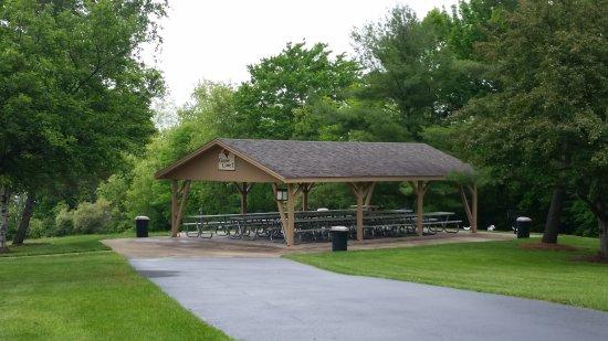 Danville, Pensilvania: Montour Preserve Goose Cove Pavilion #1