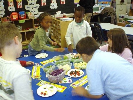 Morrisville, PA: Nutrition classroom activities