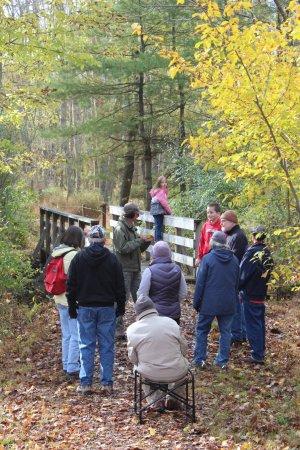 Danville, Pensilvanya: Montour Preserve Fall Foliage Hike