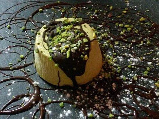 Settimo Torinese, Italia: Semifreddo ai pistacchi di Bronte