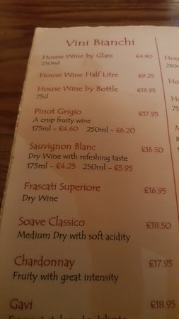 Prestbury, UK: Never Had A Wine List Like It ... Still Laughing