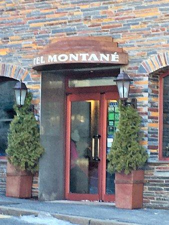 ホテル モンテイン, ホテル入り口