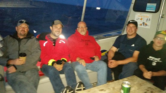 Антигониш, Канада: Relaxing on the way in after a fantastic day fishing for giant bluefin!