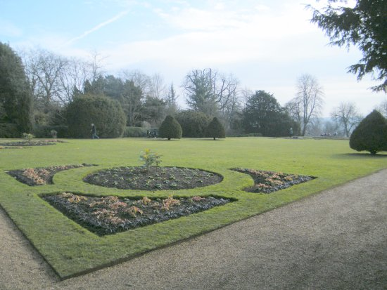 High Wycombe, UK: Formal garden