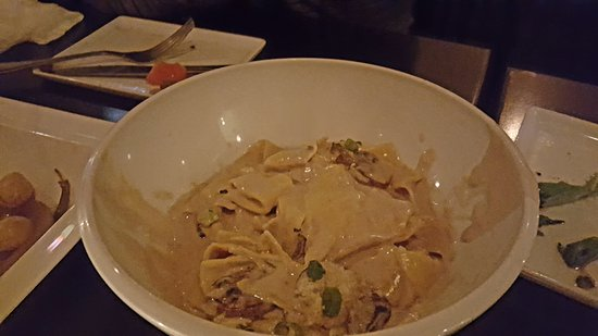 Vintage Enoteca: their signature dish the mushroom pasta, excellent a must try