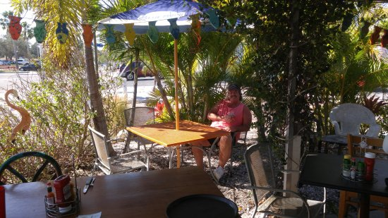 Gulfport, Floryda: cozy little beach bar