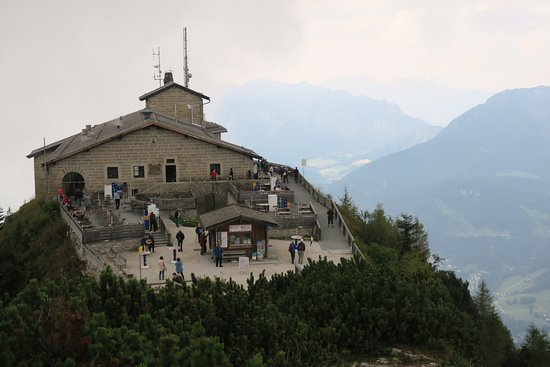 Eagle's Nest Historical Tours: Eagle's Nest from above