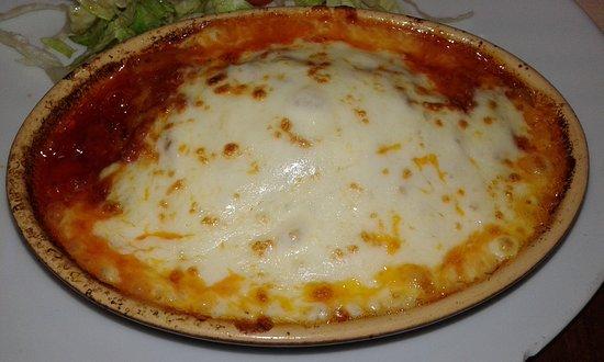 Alfortville, Frankrike: lasagne