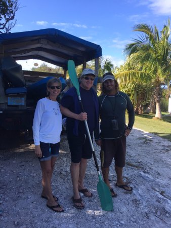 Bahamas Out Island Adventures - Day Trips: Wife, Me and Tom