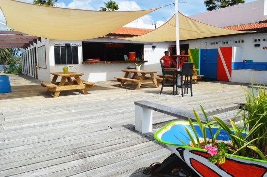 Kralendijk, Bonaire: Toucan Diving - picknick area