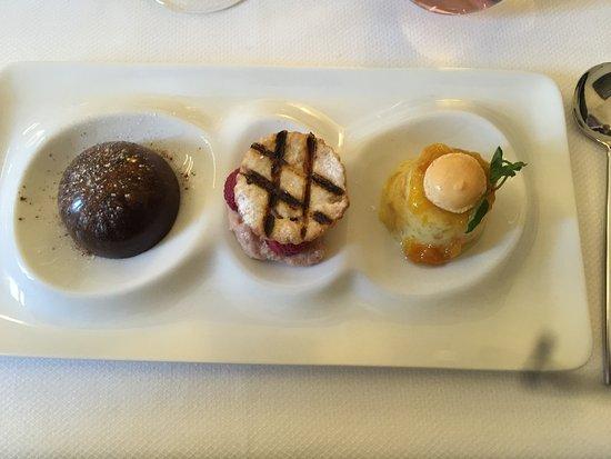 Auxerre, Frankrijk: desserts