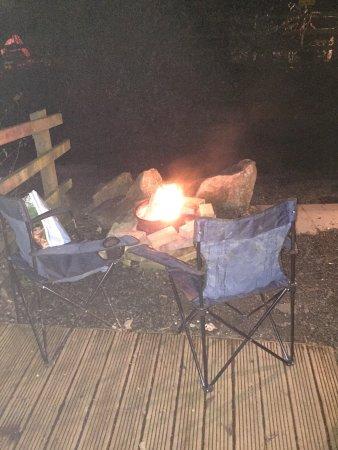 Chepstow, UK: Wigwam 18 Campfire