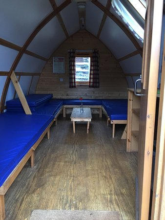 Chepstow, UK: Standward Wigwam number 18