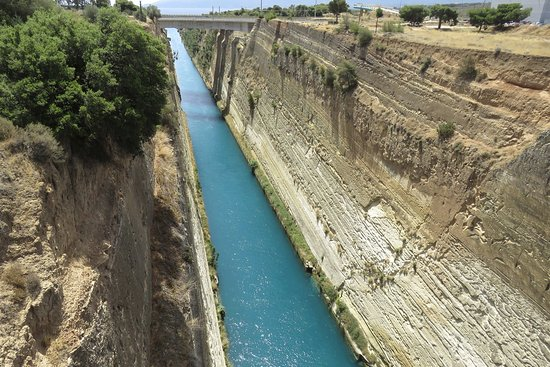 Image result for corinth canal