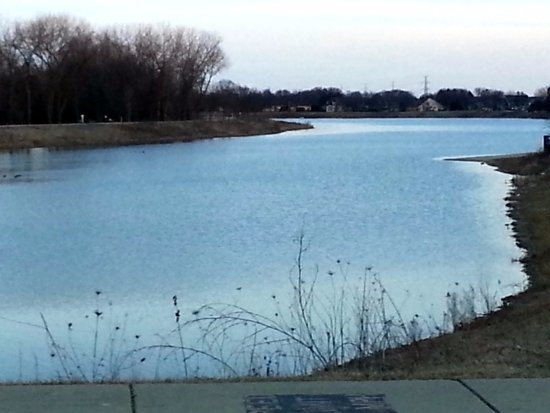 a view of the 50 acre Lake Arlington