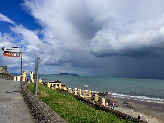 Portmarnock, Ireland: Ein etwas stürmischer Sommertag in Portmanock