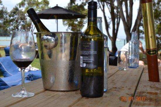 Waiheke-øya, New Zealand: wine