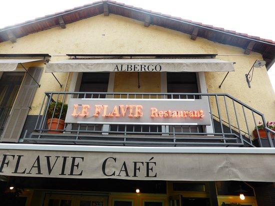 Le Flavie: LA FACADE