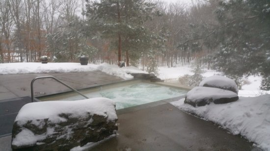 The Lodge at Woodloch : Outdoor Jacuzzi