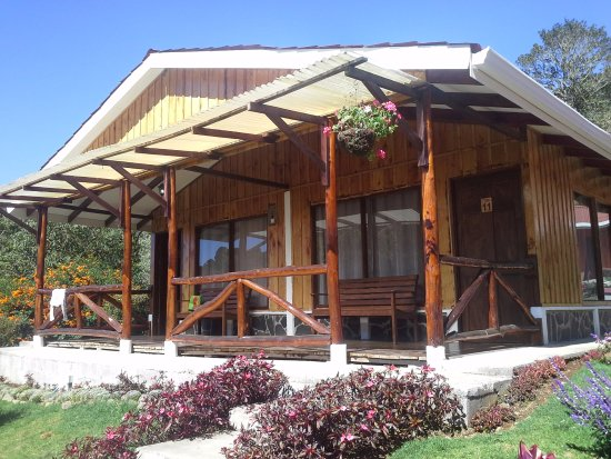 San Gerardo de Dota, คอสตาริกา: chalet avec deux appartements