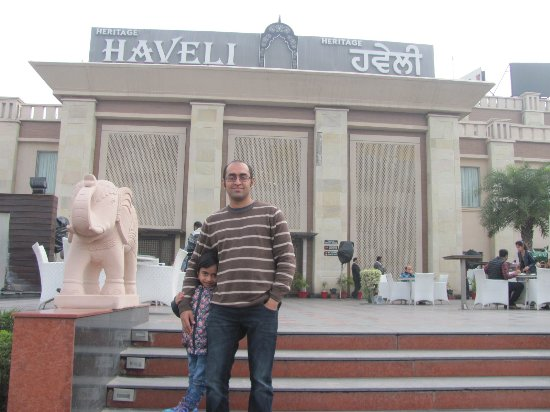 Heritage Haveli: At the entrance