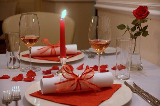 Znojmo, Repubblica Ceca: Romantická večeře