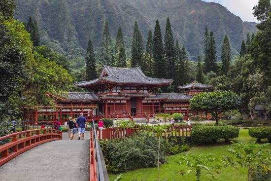 Kaneohe, ฮาวาย: Byodo-In Temple