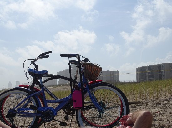 Beach Bikes on Padre