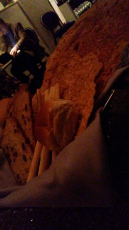 Nick & Nino's Penthouse Steakhouse: Bread basket (minus two yeast rolls!)